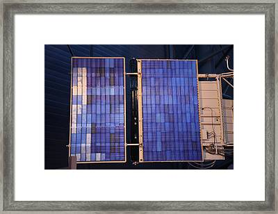 Udvar-hazy Center - Smithsonian National Air And Space Museum Annex - 121273 Framed Print by DC Photographer