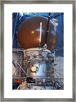 Udvar-hazy Center - Smithsonian National Air And Space Museum Annex - 121274 Framed Print