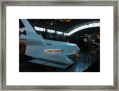 Udvar-hazy Center - Smithsonian National Air And Space Museum Annex - 121278 Framed Print