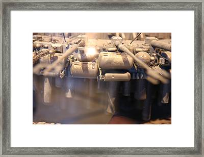 Udvar-hazy Center - Smithsonian National Air And Space Museum Annex - 121279 Framed Print