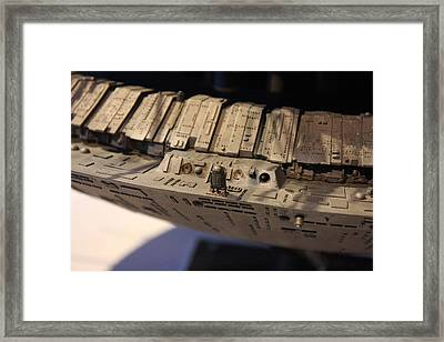 Udvar-hazy Center - Smithsonian National Air And Space Museum Annex - 121281 Framed Print by DC Photographer