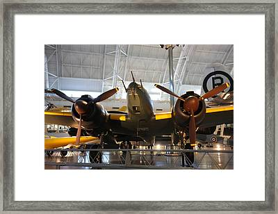 Udvar-hazy Center - Smithsonian National Air And Space Museum Annex - 121285 Framed Print by DC Photographer