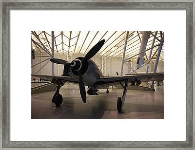 Udvar-hazy Center - Smithsonian National Air And Space Museum Annex - 121286 Framed Print by DC Photographer