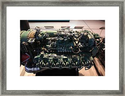 Udvar-hazy Center - Smithsonian National Air And Space Museum Annex - 12129 Framed Print by DC Photographer