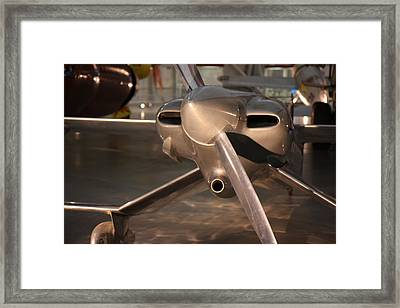 Udvar-hazy Center - Smithsonian National Air And Space Museum Annex - 121290 Framed Print