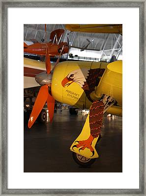 Udvar-hazy Center - Smithsonian National Air And Space Museum Annex - 121299 Framed Print by DC Photographer
