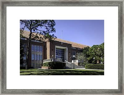 Uf Tigert Hall Administration Building Framed Print by Lynn Palmer