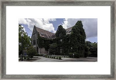 Uf Walker Hall Framed Print by Lynn Palmer