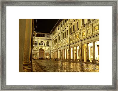 Uffizi Gallery Florence Italy Framed Print by Ryan Fox