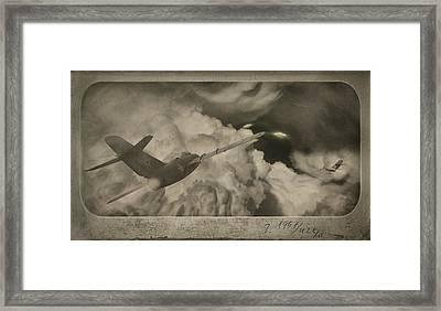 Ufo-1951 Framed Print by Akos Kozari