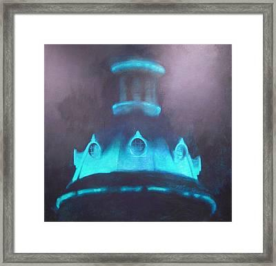Ufo Dome Framed Print by Blue Sky