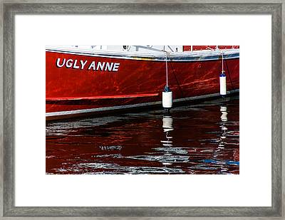 Ugly Anne Framed Print