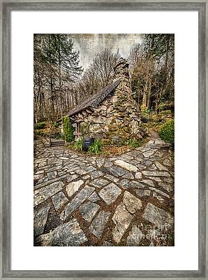 Ugly Cottage Framed Print by Adrian Evans
