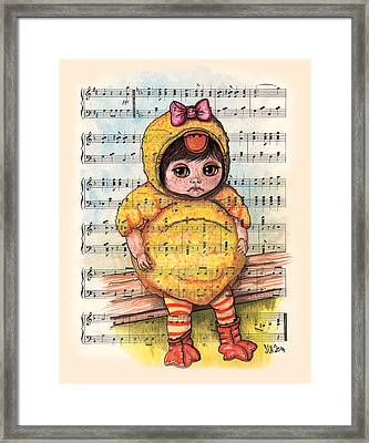 Ugly Duckling Framed Print by Sarah Hallam