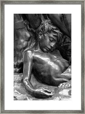 Ugolin Detail From Orsay Museum Framed Print