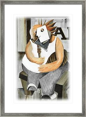Uilleann Piper Framed Print