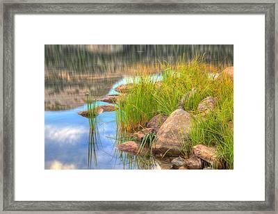 Uinta Reflections Framed Print by Dustin  LeFevre