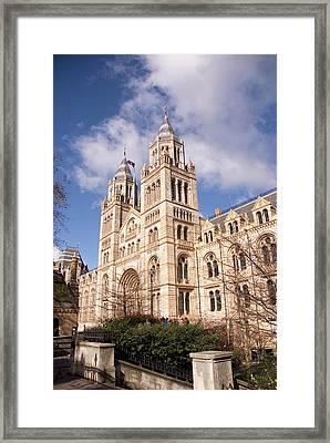 Uk London South Kensington Natural Framed Print
