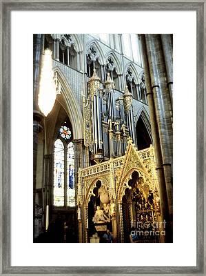 Uk Westminster Alter Framed Print