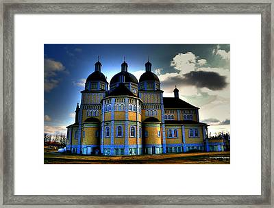 Ukrainian Catholic Church Of The Immaculate Conception Framed Print