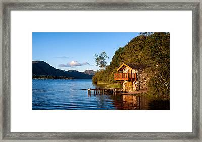 Ullswater At Dawn Framed Print by Alexis Birkill