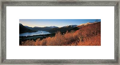 Ullswater Lake District England Framed Print by Panoramic Images