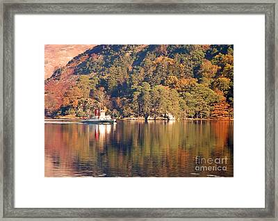 Ullswater Steamer Framed Print by Linsey Williams