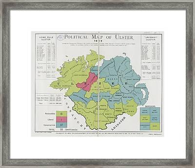 Ulster Framed Print