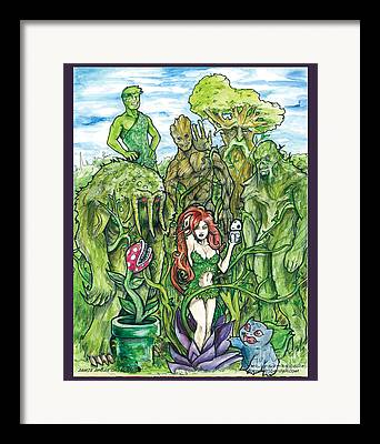 Ent Drawings Framed Prints