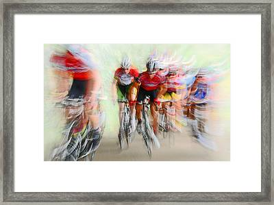 Ultimo Giro # 2 Framed Print by Lou Urlings