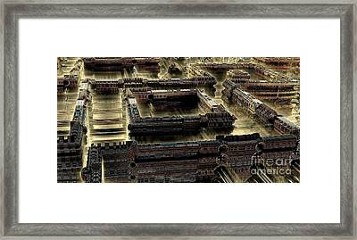 Ultra-urban Framed Print by Bernard MICHEL