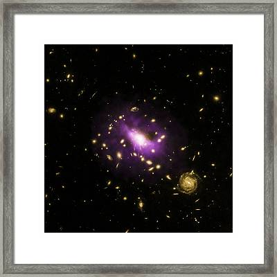 Ultramassive Black Hole Framed Print