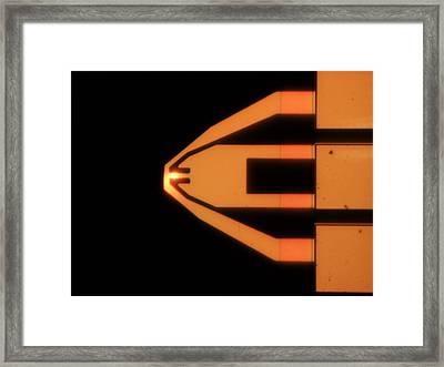 Ultrasharp Silicon Carbide Tip Framed Print