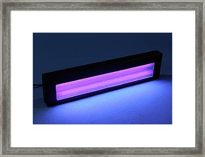 Ultraviolet Light Framed Print by Public Health England