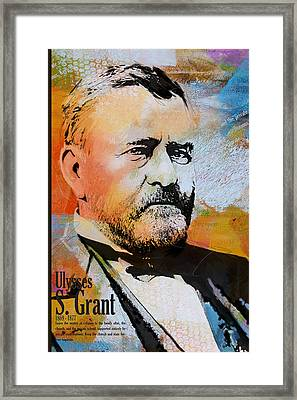 Ulysses S. Grant Framed Print by Corporate Art Task Force