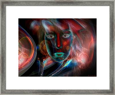 Umbilical Connection To A Dream  Framed Print