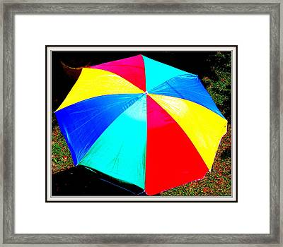 Umbrella-2 Framed Print by Anand Swaroop Manchiraju