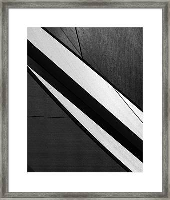 Umbrella Abstract Framed Print