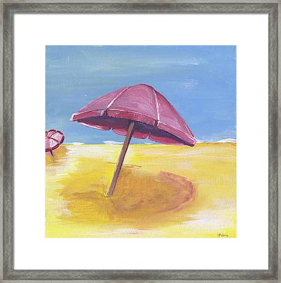 Umbrella Framed Print by Anne Seay