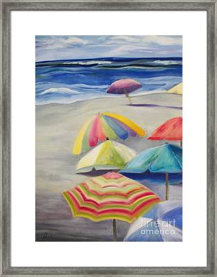 Umbrella Day Framed Print