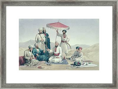 Umeer Dost Mohammed Khan Framed Print by Louis Hague
