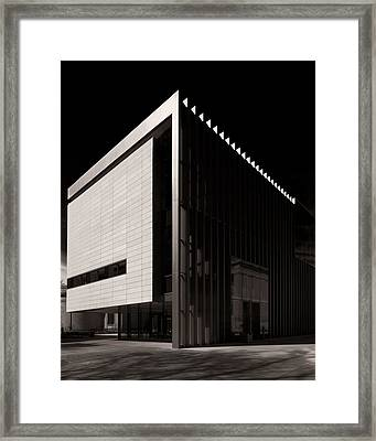 Framed Print featuring the photograph Umma - New Wing by James Howe