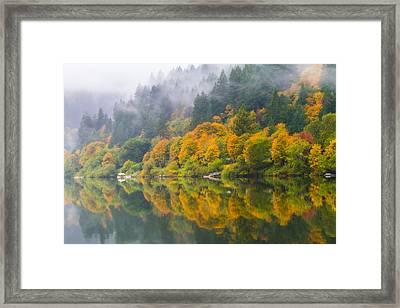 Umpqua Serenity Framed Print by Patricia Davidson