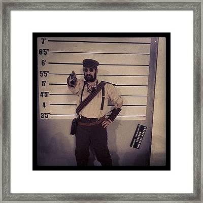 Un @hush_zero #steampunk ♥ Framed Print