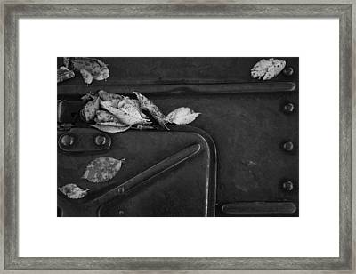 Un Peu De Fatigue Framed Print by Maude Demers