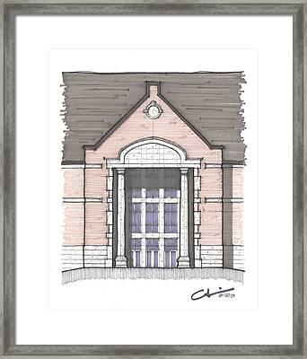 Una Entry Study Framed Print