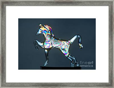 Unannealed Glass Framed Print