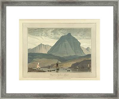Unapool In Kyles-cu Alsynt Framed Print by British Library