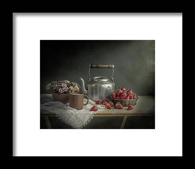 Teakettles Framed Prints