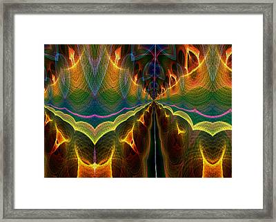 Unbalanced Mind Framed Print